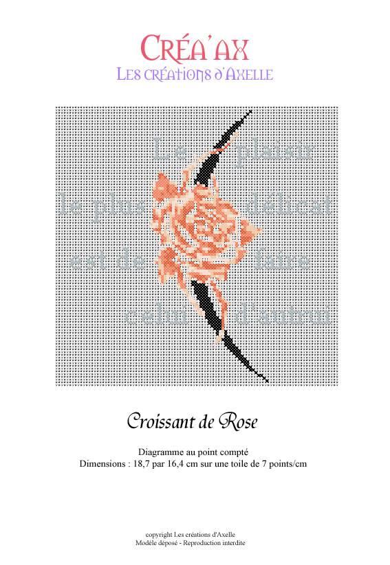 Croissant de Rose