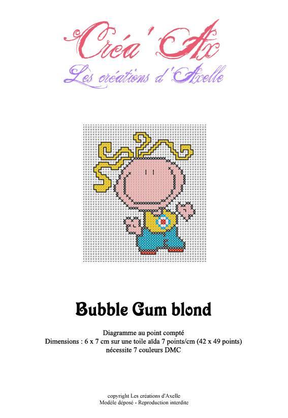 Bubblegum blond